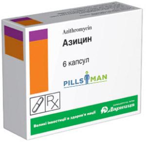 Азицин - инструкция по применению и цена