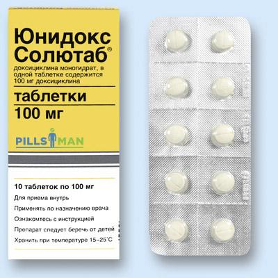 Таблетки Юнидокс Солютаб - инструкция по применению и цена