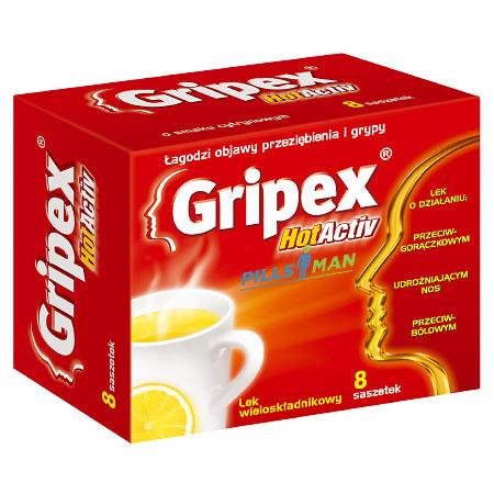 Фото препарата Гриппекс