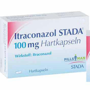 Фото препарата Итраконазол