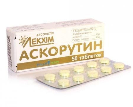 Фото препарата Аскорутин