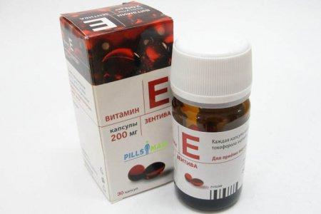 Капсули Витамин Е - инструкция по применению и цена