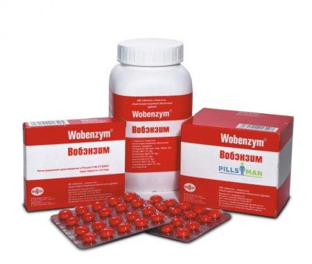 Фото препарата Вобэнзим