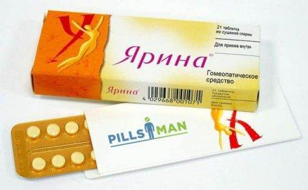 Таблетки Ярина - инструкция по применению и цена