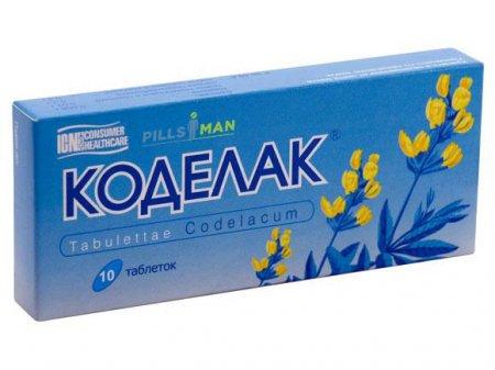 Фото препарата Коделак