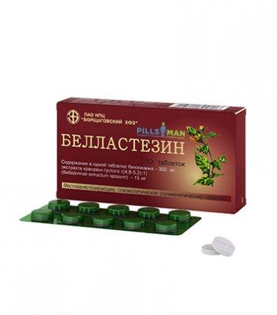 Фото препарата Белластезин