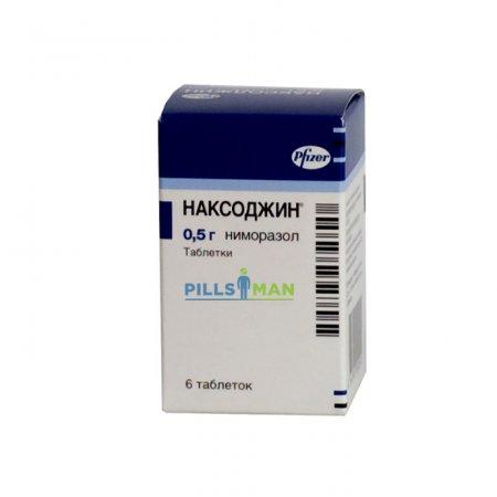 Таблетки Наксоджин - инструкция по применению и цена