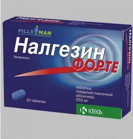 Фото препарата Напроксен