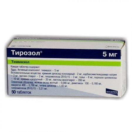Фото препарата Тирозол