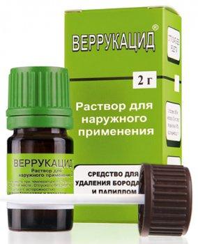 Фото препарата Веррукацид