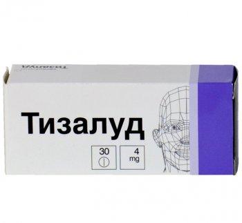 Фото препарата Тизалуд