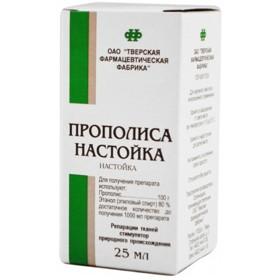 Фото препарата Прополиса настойка