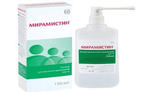 Лекарство мирамистин в гинекологии уверен