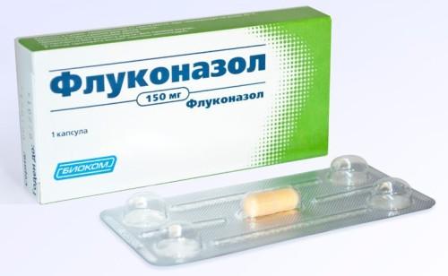 флуконазол как пить с антибиотиками