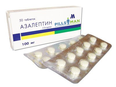 Фото препарата Азалептин