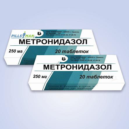 Фото препарата Метронидазол