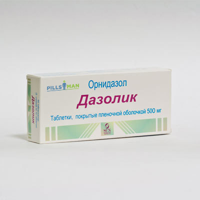 Фото препарата Дазолик
