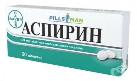 Фото препарата Аспирин