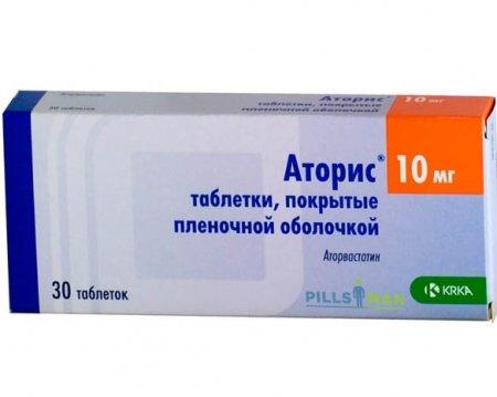 Фото препарата Аторис