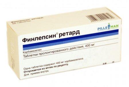 Фото препарата Финлепсин