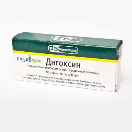 Фото препарата Дигоксин