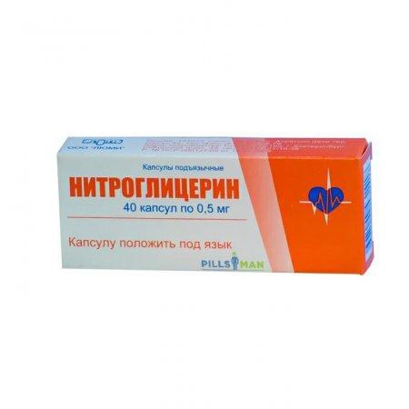 Фото препарата Нитроглицерин