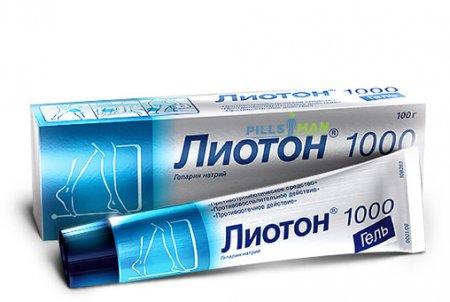 Фото препарата Лиотон