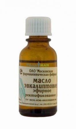Фото препарата Эвкалиптовое масло