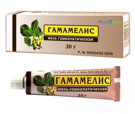 Фото препарата Гамамелис