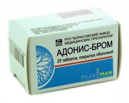 Фото препарата Адонис-бром