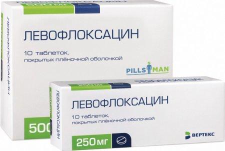 Фото препарата Левофлоксацин