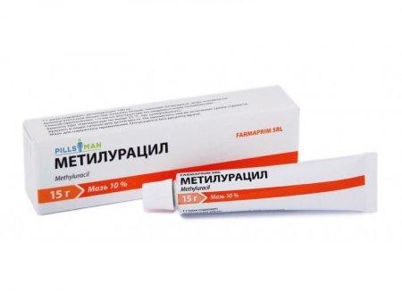 Фото препарата Метилурацил