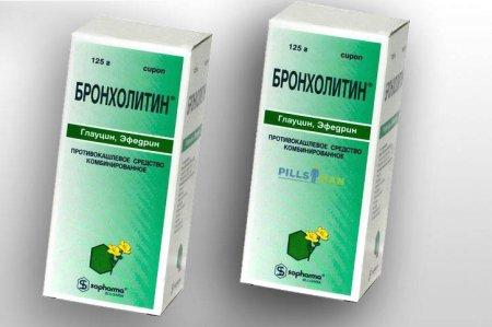 Фото препарата Бронхолитин
