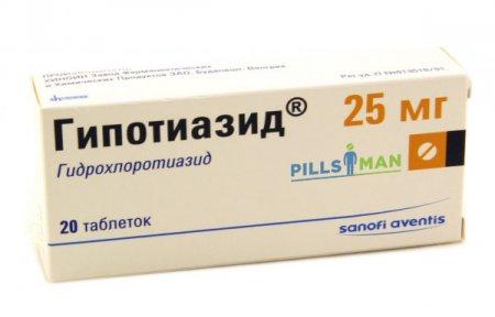 Фото препарата Гипотиазид