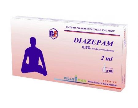 Фото препарата Диазепам