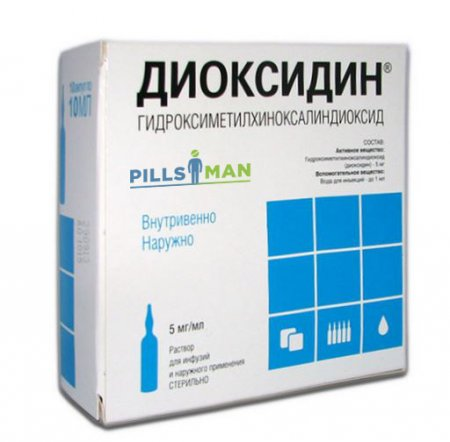 Фото препарата Диоксидин