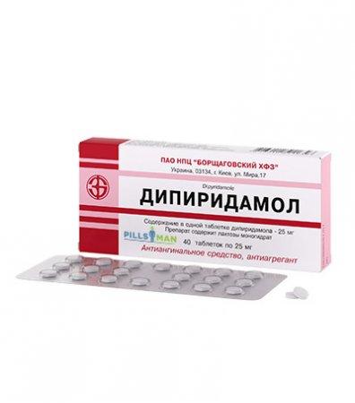 Фото препарата Дипиридамол