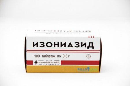 Фото препарата Изониазид