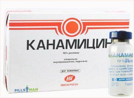 Фото препарата Канамицин