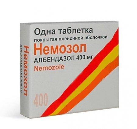 Фото препарата Немозол