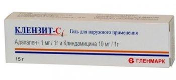 Фото препарата Клензит-С