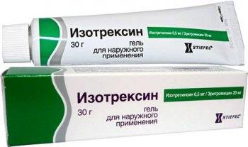 Фото препарата Изотрексин