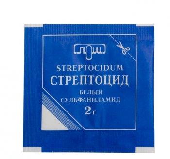 Фото препарата Стрептоцид