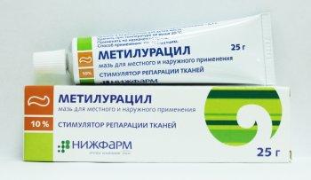 Фото препарата Метилурацил мазь