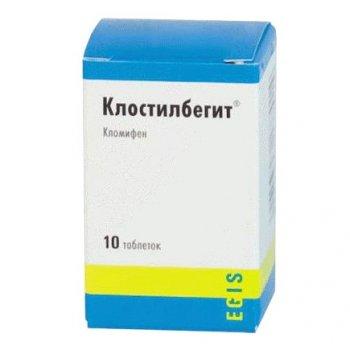 Фото препарата Клостилбегит