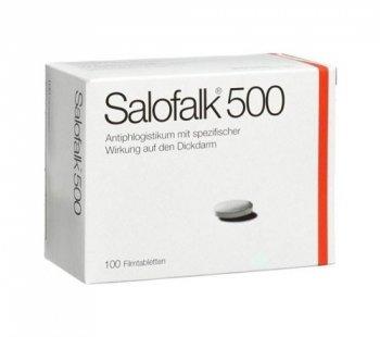 Фото препарата Салофальк таблетки