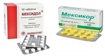 Мексикор и мексидол в чем разница препаратов?