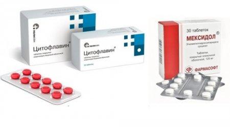 Цитофлавин или мексидол что эффективнее