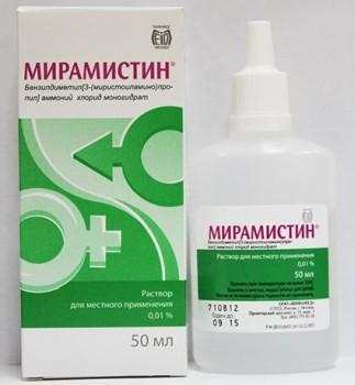 Мирамистин для лечения молочницы
