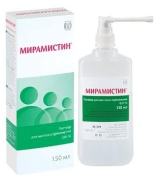 Мирамистин при герпесе эффективно подавляет развитие вируса